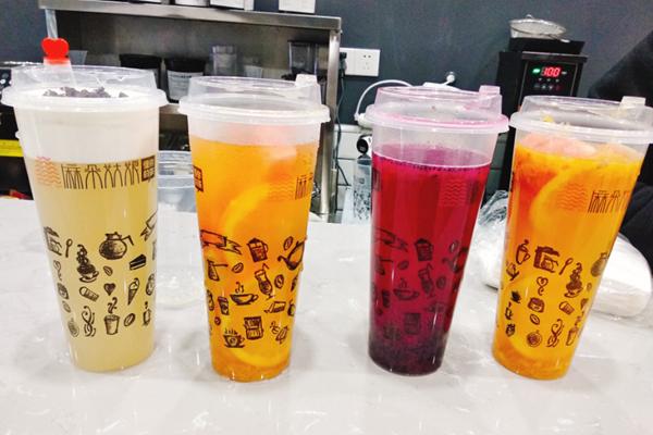 奶茶加盟店产品