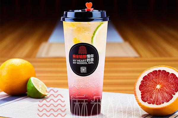 麻朵姑娘水果茶加盟